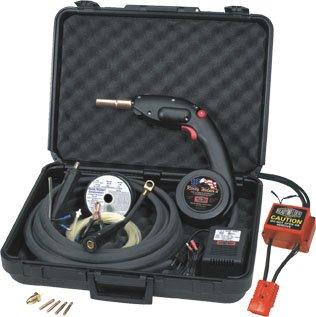 Prêt Soudeurs MIG soudage mechines avec Mig Spool Gun et un convertisseur AC / DC pour alimentation 24V DC Constand bâton courant machines à souder RWII # 10250-CS