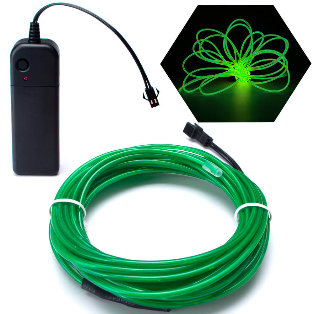 EL Wire Green 15FT