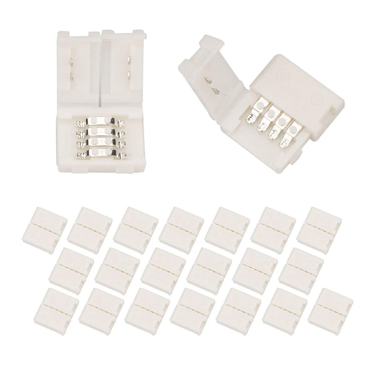LED Strip Light Connector 20PCS Clips