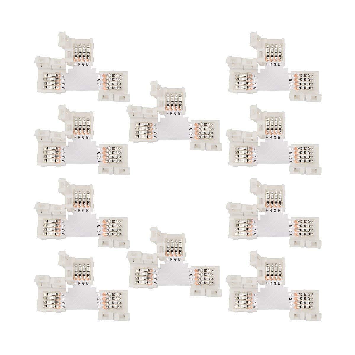Светодиодные полосы света Соединитель T Форма